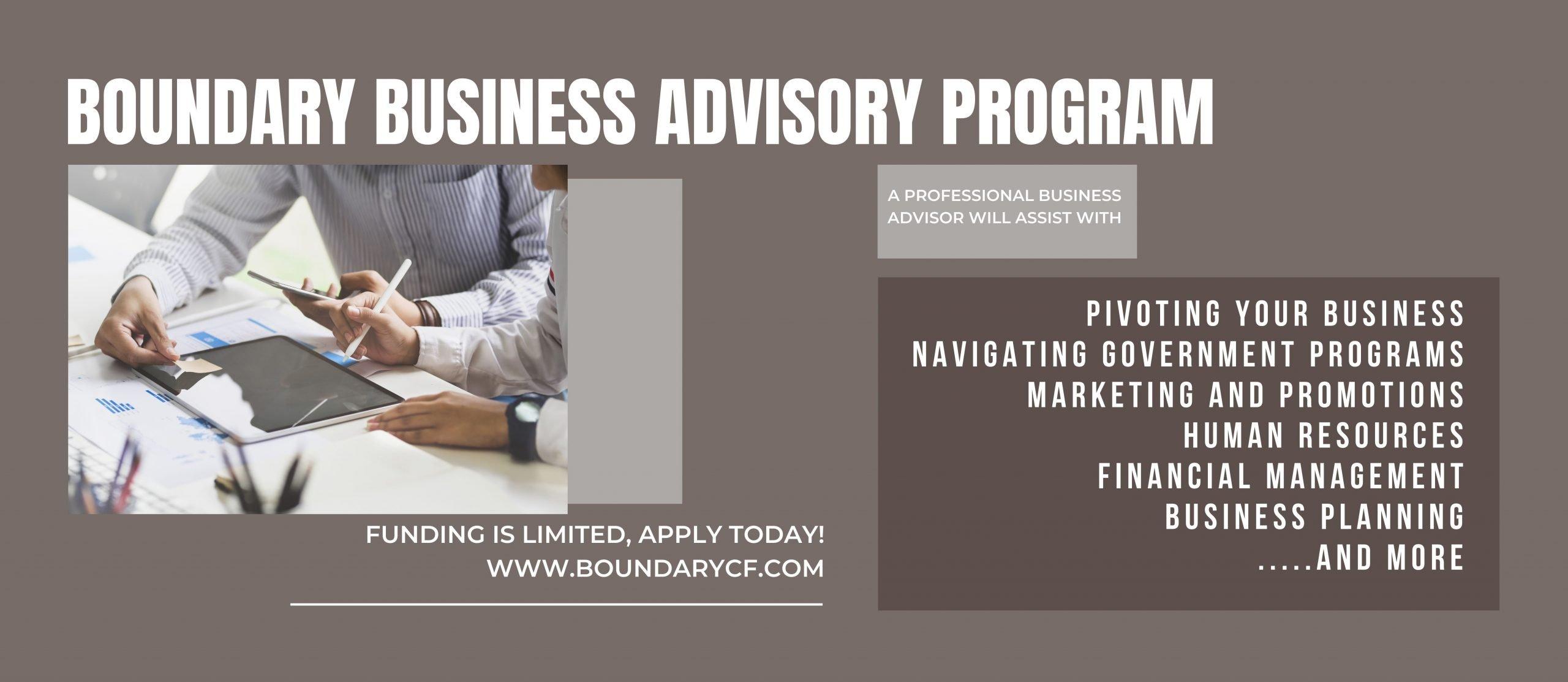 Boundary Business Advisory Program feature image